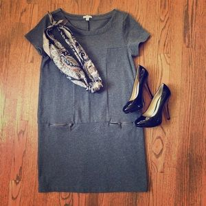 The Gap Gray Knit Dress. XS